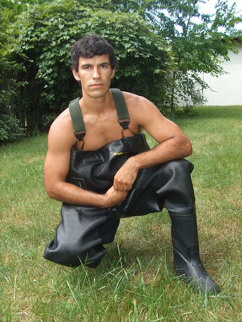 Chad In Chest Waders 4  Flickr - Photo Sharing-3533