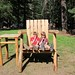 Big Foot's patio furniture