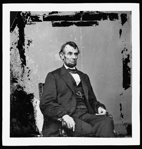 Abraham Lincoln, U.S. President. Seated portrait, facing right] (LOC) | by Fred Seibert