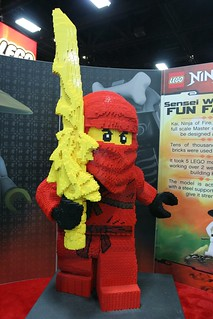 Ninjago Statue at the LEGO booth - San Diego Comic Con - 2 | by fbtb