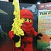 Ninjago Statue at the LEGO booth - San Diego Comic Con - 2