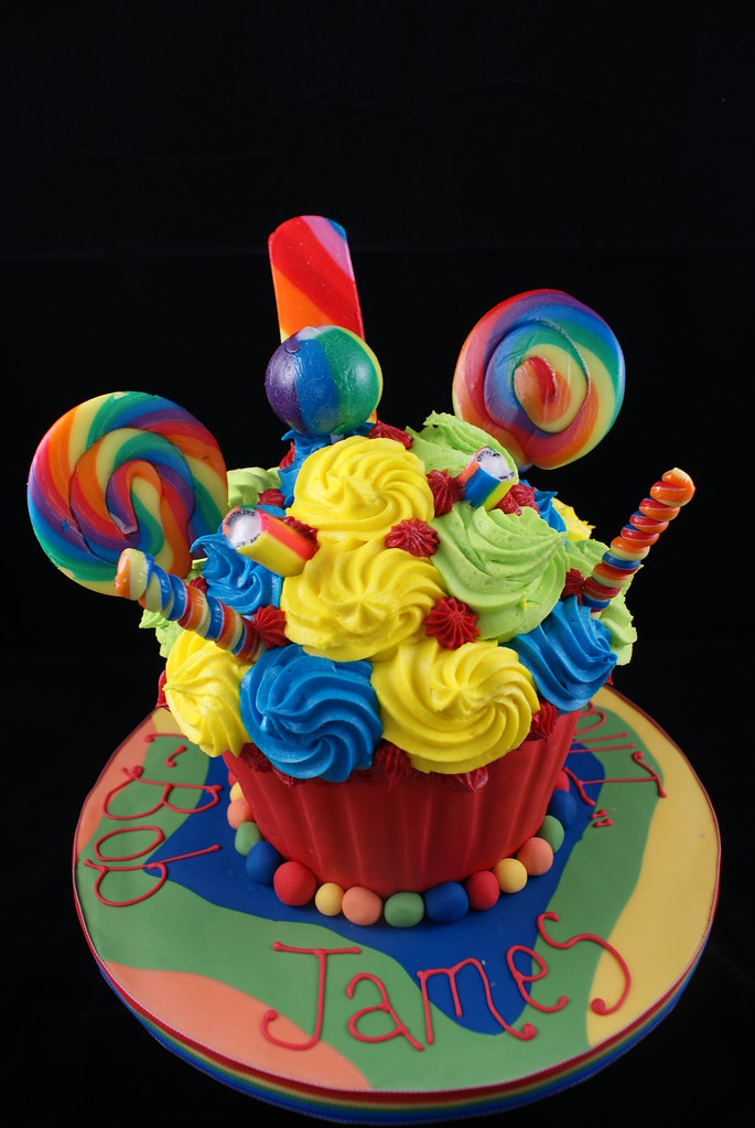 All The Fun Of The Fair Giant Cupcake For My Younger
