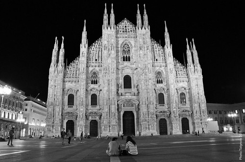 Milan Cathedral , night view | by Tizignolo