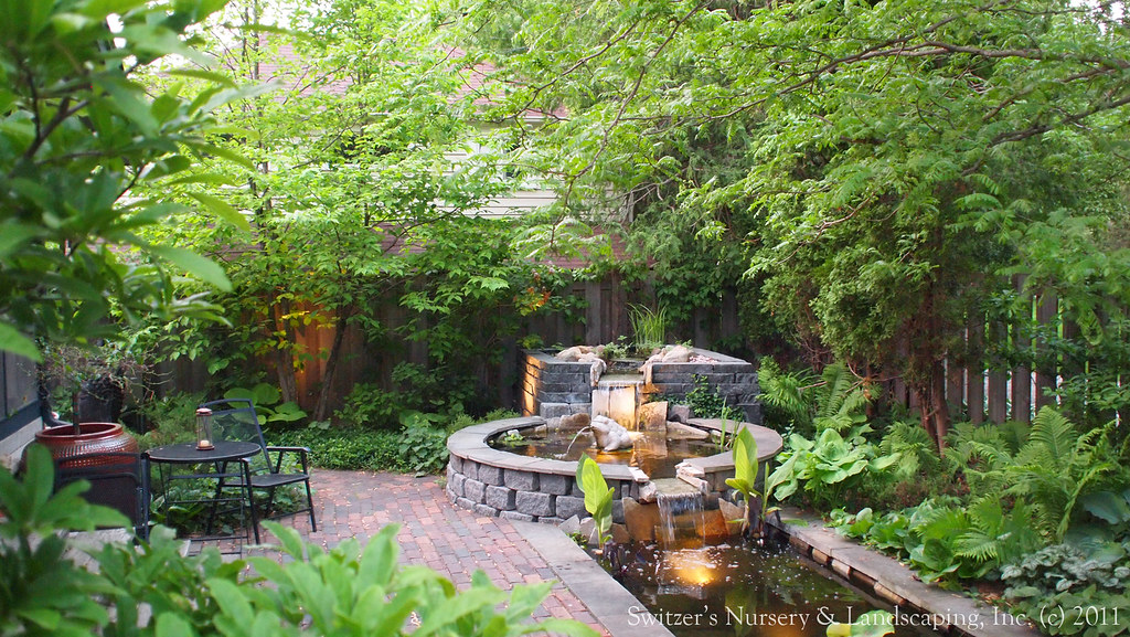 Attrayant ... Minnesota Landscape Design Inspired By Bali ~ Natural Stone Water  Feature / Koi Pond / Water