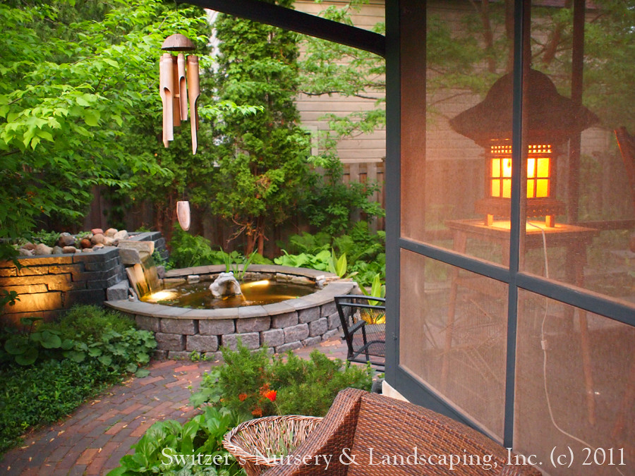 Minnesota Landscape Design Inspired By Bali Natural Ston