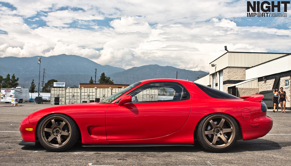 Rx 7 Fd While Walking Around At Sideway Sundays I Came
