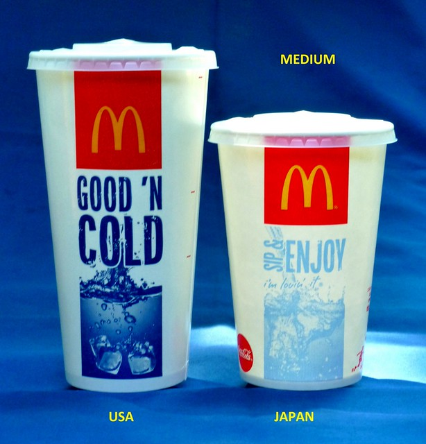 Size Of Mcdonald S Drinks