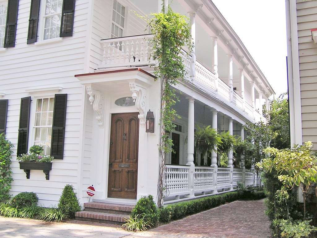 Charleston 0804014 These Long Charleston Piazzas Became