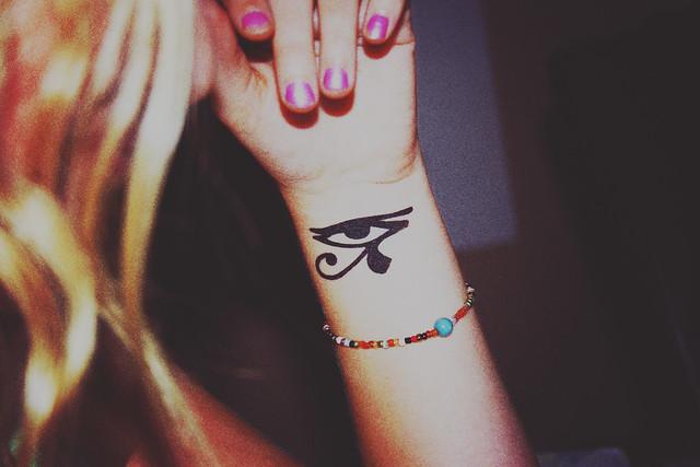 Illuminati Triangle Tattoo [218/365] Illum...