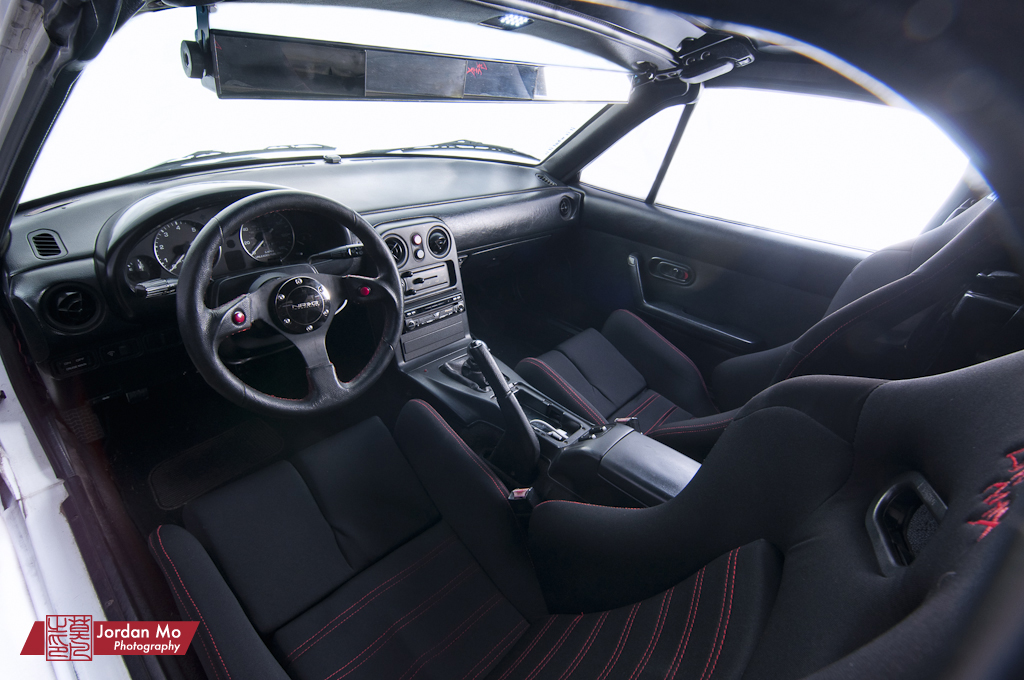 ... Mazda Miata NA Interior | By Jordan Mo Photography