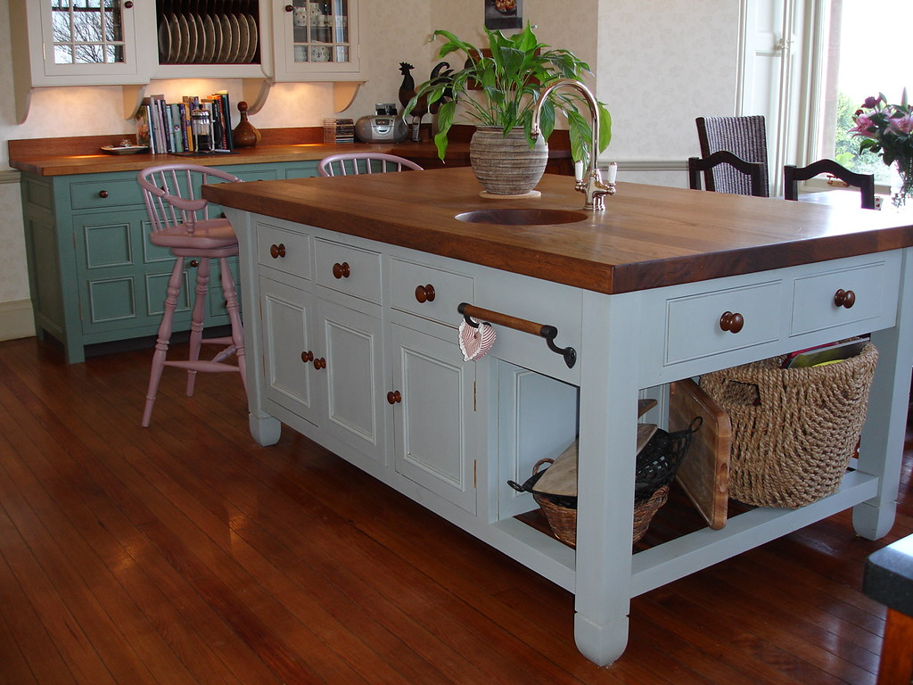 Kitchen Island Table Butcher Block Top