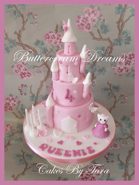 castle with princess hello kitty cake | Flickr - Photo ...