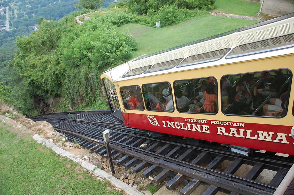 Incline Railway Lookout Mountain Tennessee The