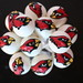 Arizona Cardinals Cake Pops