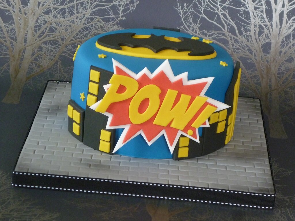 Batman birthday cake The recipient of this cake is a huge Flickr