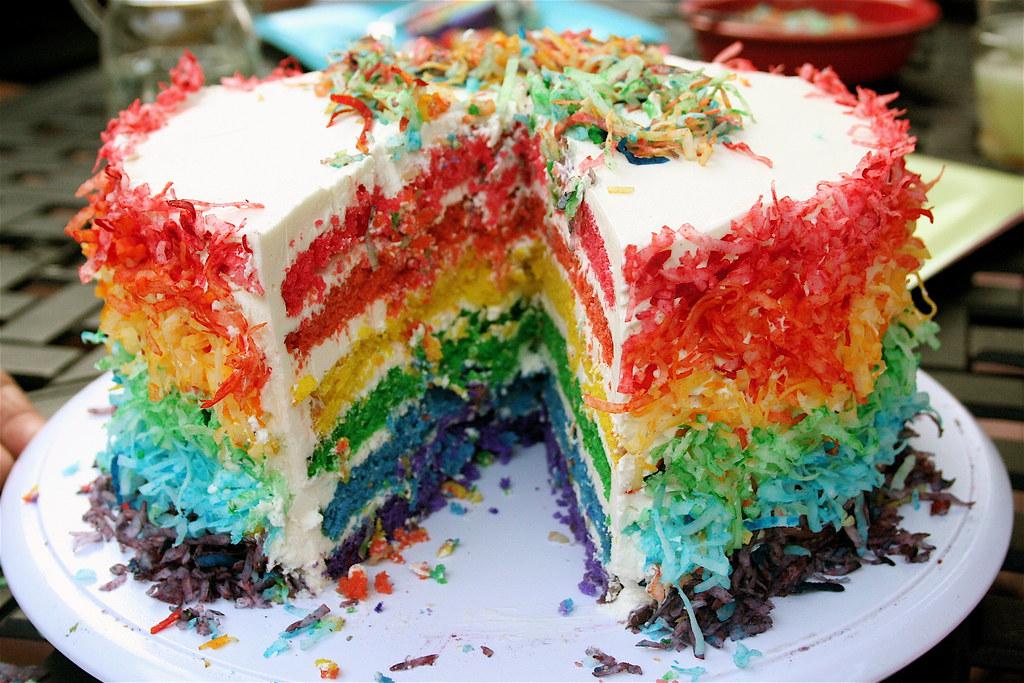 Brianmarkcordes 28th Birthday Cake Many Colors