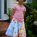 One-yard skirt pattern: Swim Fishy Swim