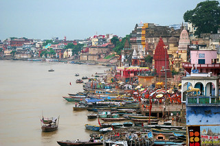 A view of the life at the Ganges river in Varanasi, India. | by cookiesound