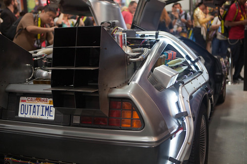 Back to the Future Part 1 - DeLorian Time machine | by Mooshuu