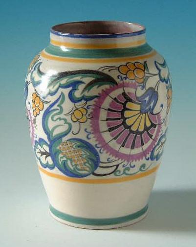 Poole Pottery Vase 1920s30s Sold John Clark Flickr