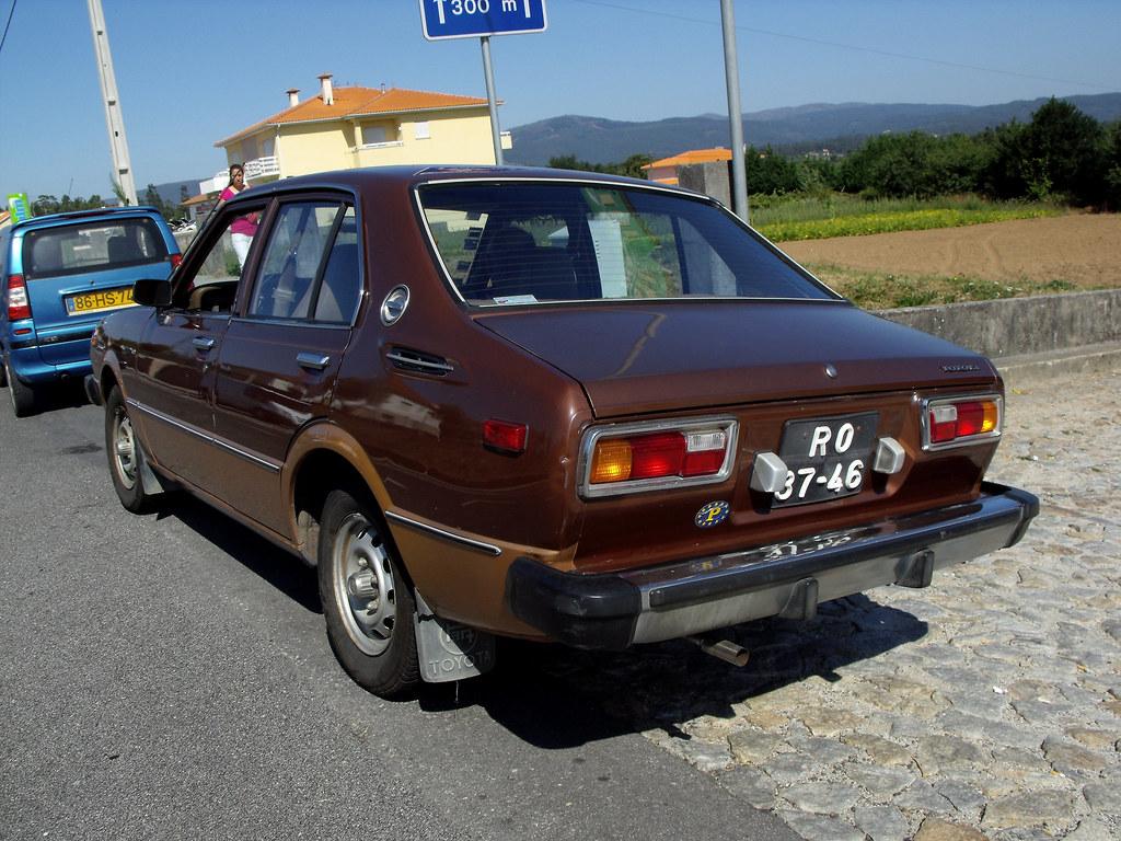 1978 Toyota Corolla Fiattipoelite Flickr