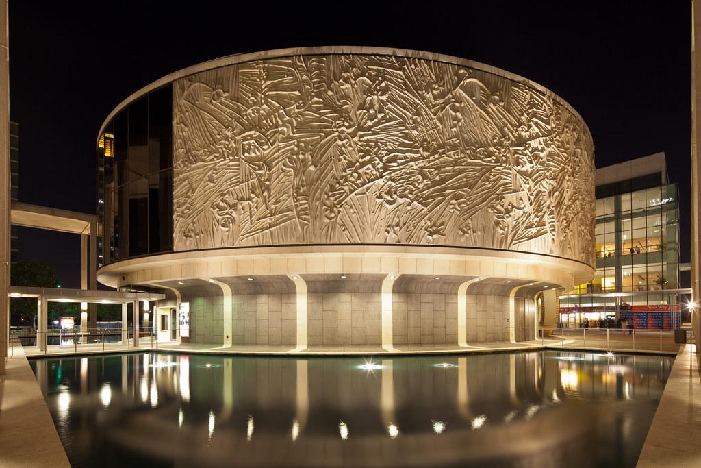 Mark Taper Forum Dorothy Chandler Pavilion Architect