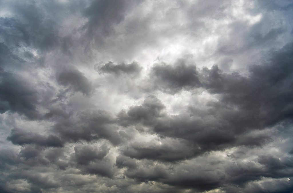 Cloudy Skys | Just some dark clouds passing by. | Edmund ...