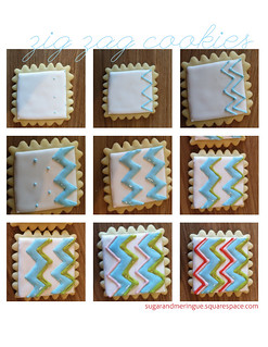 Zig Zag Cookies Start-to-Finish | by Sugar & Meringue / E-A-T