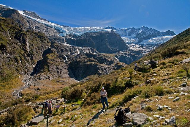 Dad By The Rob Roy Glacier