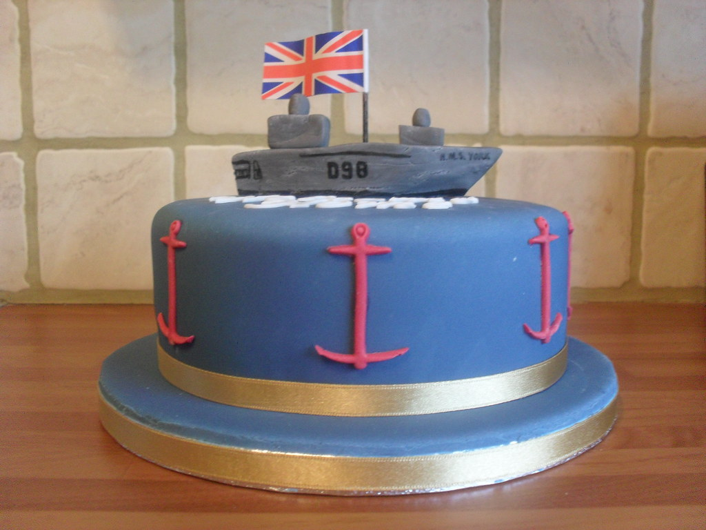 welcome home navy style cake karen thorn flickr