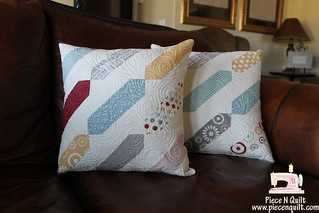 Pillows Gone Wild - Tutuorial | by Natalia @ Piece N Quilt