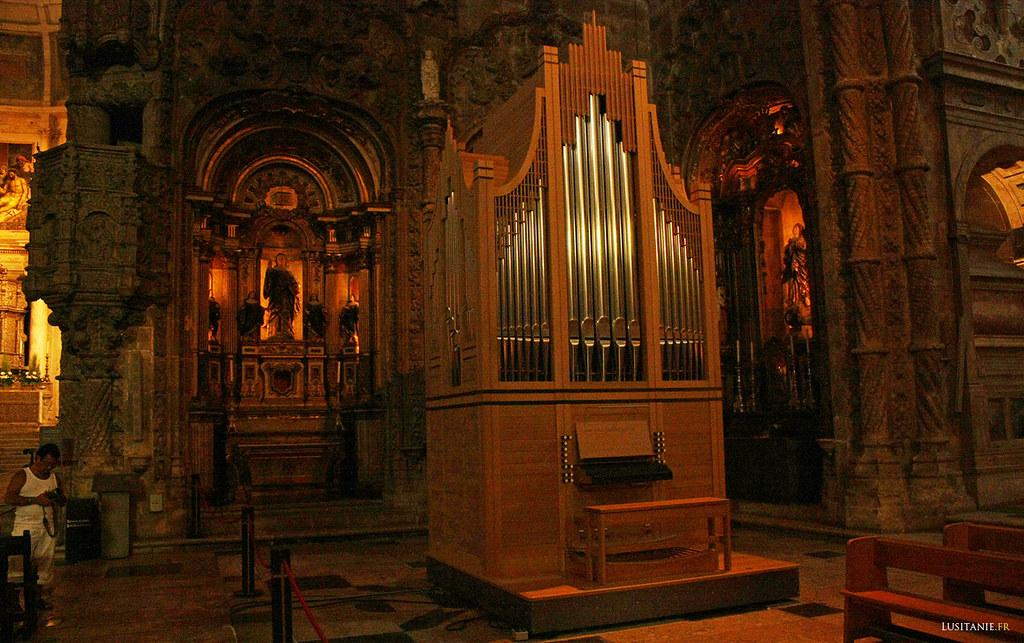 Petit orgue de l'église