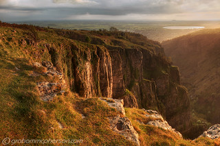 Rain at the edge of Cheddar Gorge | by GrahamMcPherson