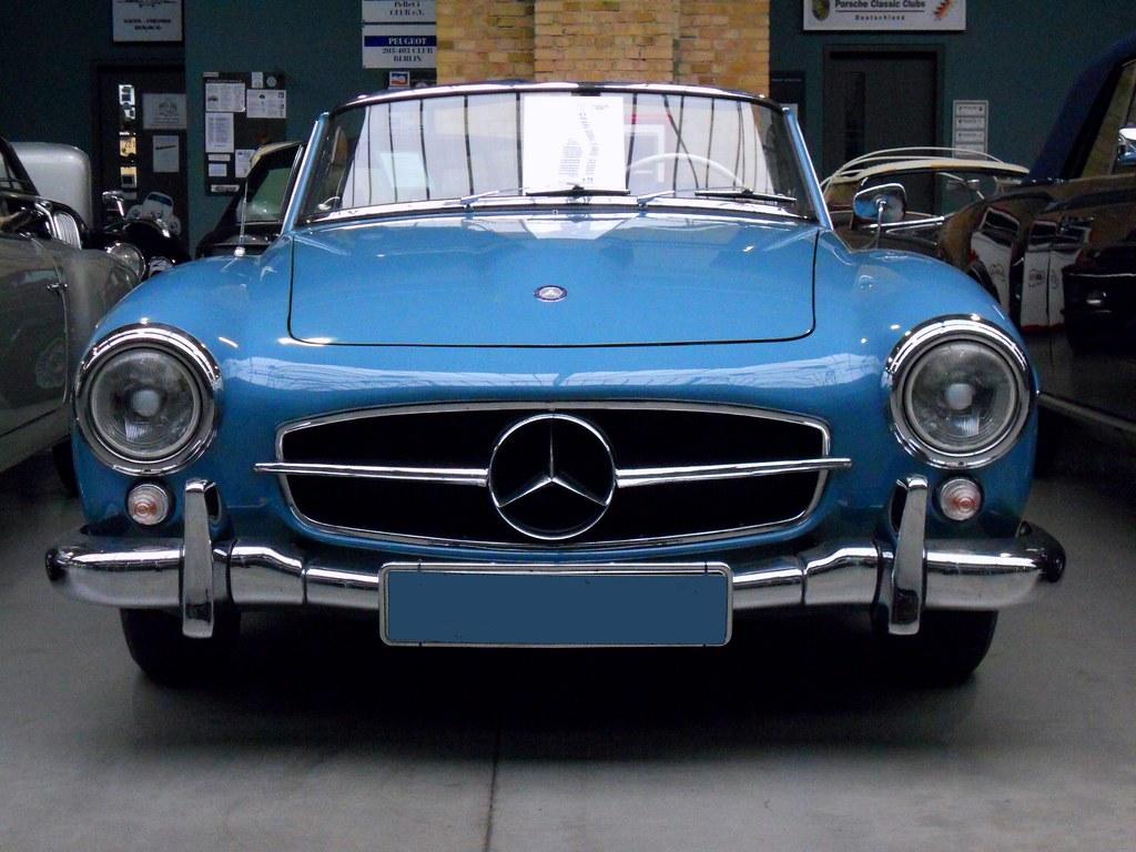 Mercedes benz 190 sl roadster w121 b2 1962 105 ps for Mercedes benz b2 service