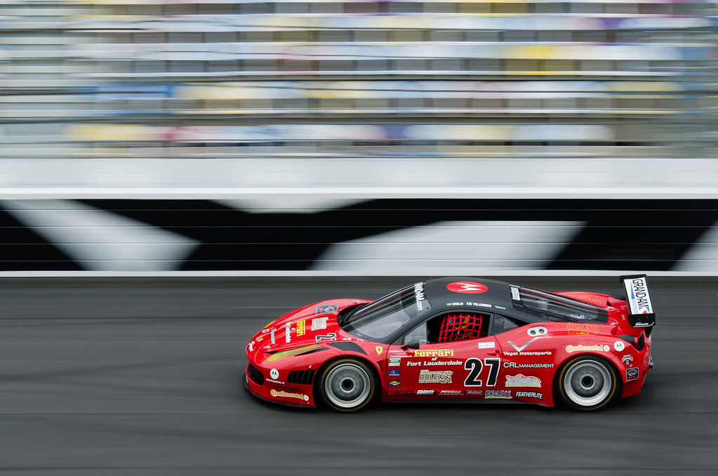 ... Daytona 2011   GRAND AM Rolex Sports Car Series Test   Ferrari 458GT |  By