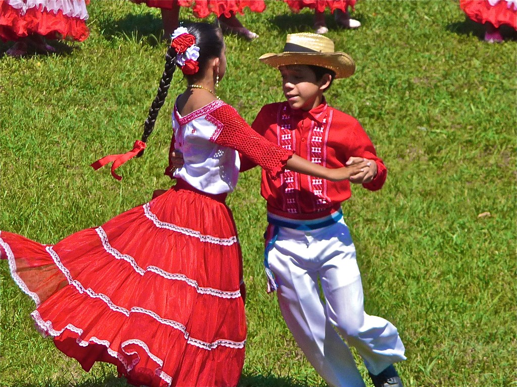 Inauguration Kids Kids Perform The Traditional Danza Para Flickr - Paraguay culture