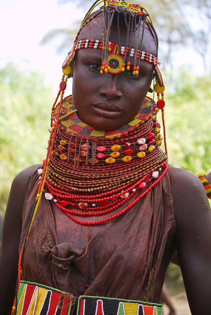 Turkana People Kenia Kenya Tribes Stammen Turkana