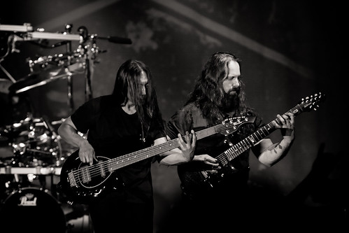 Dream Theater - John Myung & John Petrucci | by Guy Prives