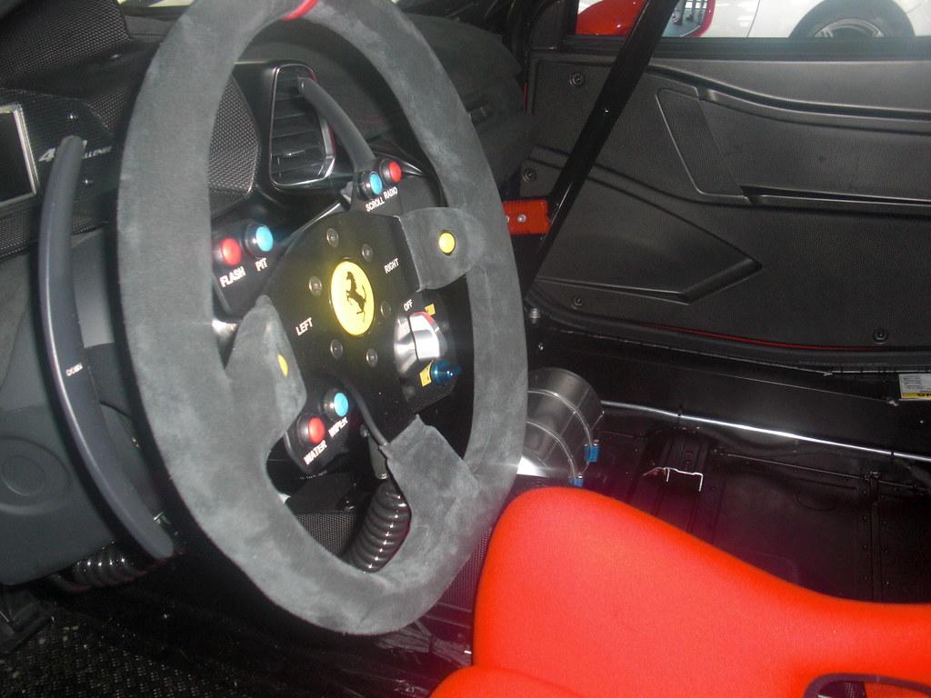 interior of ferrari 458 challenge race car goodwood 2011 flickr. Black Bedroom Furniture Sets. Home Design Ideas