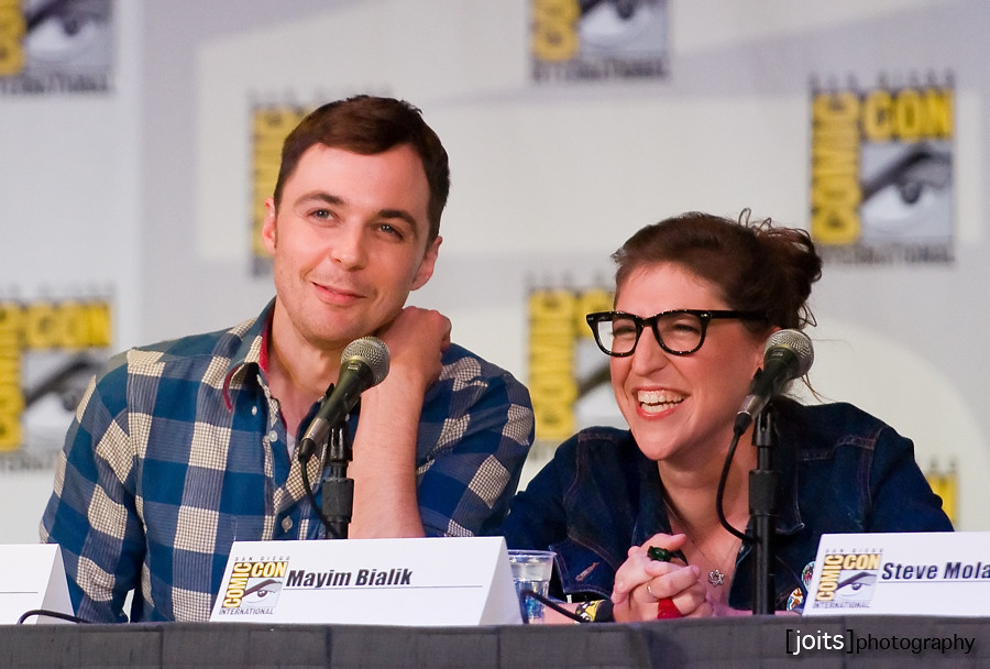 jim parsons and mayim ...