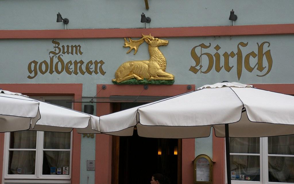 Speyer Maximilianstraße Gaststätte Zum Goldenen Hirsch Flickr