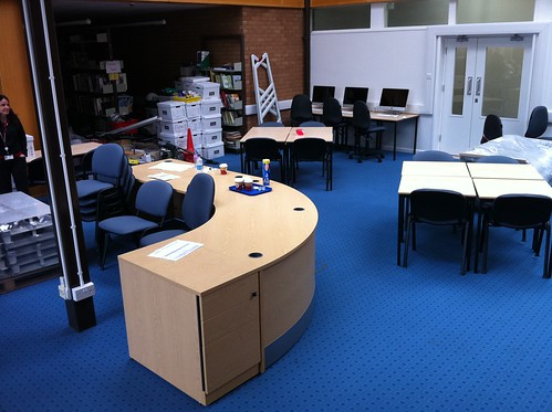 GC Library Refurbishment Week 6a | by James F Clay