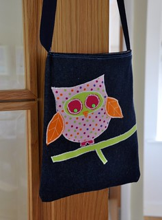 Applique tote bag | by JaneyAnna