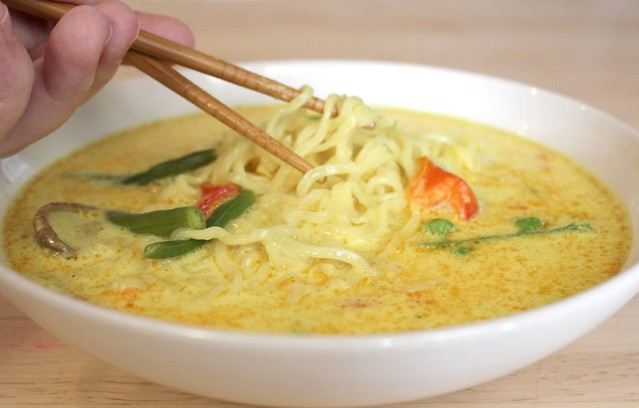 Ten Minute Coconut Curry Chicken Noodle Soup | Flickr - Photo Sharing!