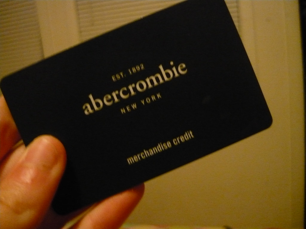 abercrombie kids credit card Abercrombie Kids Gift Card | capturinghearts | Flickr