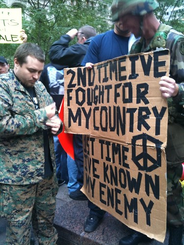 Vets #occupywallst | by Melissa Gira Grant