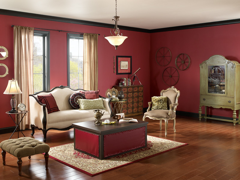 Steampunk Living Room Walls Spiced Wine Ul100 8 Ceiling