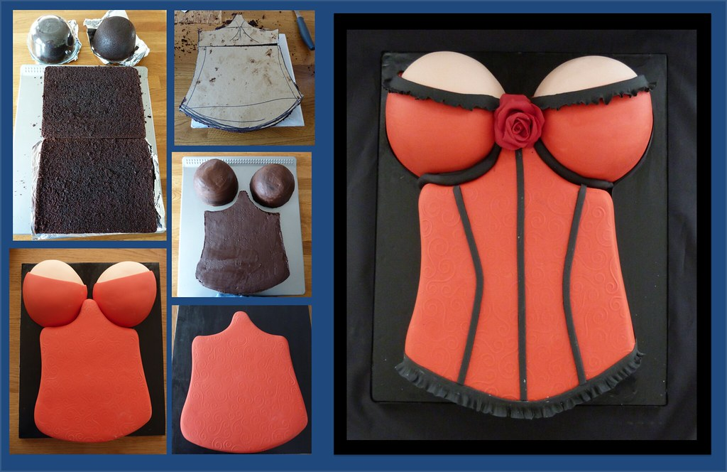 Corset Cake Step By Step