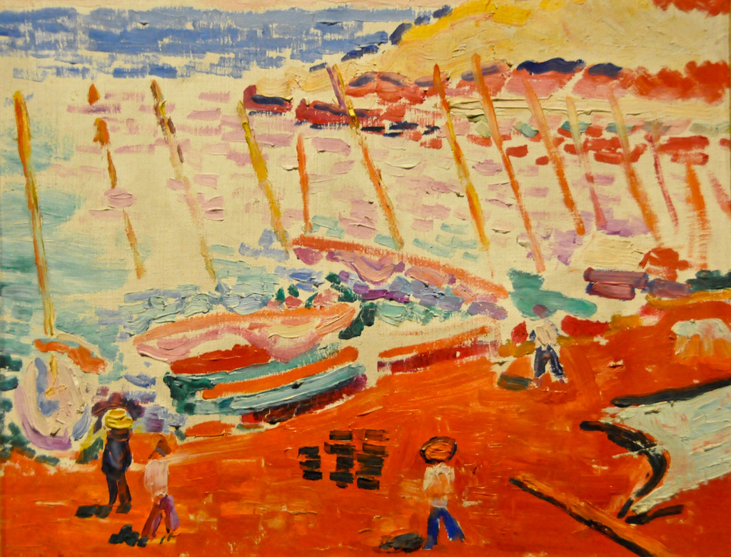Henri Matisse - The Red Beach (La plage rouge), 1905 at Th ...