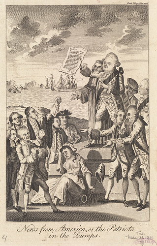 News from America, or the patriots in the dumps | by Boston Public Library